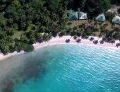 """شاهد.. الطبيعة الخلابة وإطلالة المحيط فى جزيرة """"بورت بارتون"""" بالفلبين"""