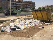 شكوى من انتشار القمامة بغرب أربيلا بالتجمع الخامس