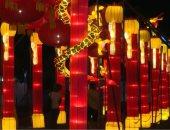 شاهد.. مهرجان الفوانيس الصينى ينير سماء إيطاليا