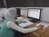 صور.. مكتب تنسيق جامعة قناة السويس يستقبل 150 طالبا من مرحلة الدبلومات