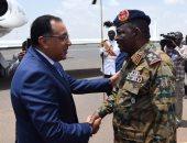 مصطفى مدبولى يصل السودان للمشاركة بمراسم توقيع الوثيقة الدستورية