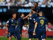 ريال مدريد ينهى عقدة الفوز خارج ملعبه فى الليجا بعد غياب 160 يوما