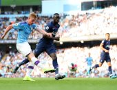 """مان سيتي ضد توتنهام.. التعادل يحسم قمة الدوري الإنجليزي 2-2 """"فيديو"""""""