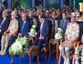 """فيديو.. السيسى: """"والله العظيم النبى محمد ما يرضى إن مقام يعطل طريق"""""""
