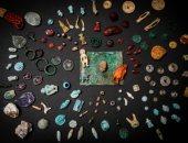 العثور على آثار بمدينة بومبى الإيطالية عمرها 2000 سنة بينها قطع بطراز مصرى