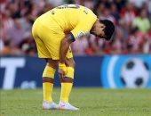 برشلونة يصدر بيانا رسميا حول إصابة سواريز أمام أتلتيك بيلباو