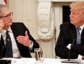 رئيس أبل التقى ترامب 5 مرات خوفا من الحرب التجارية