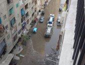 مياه الصرف تحاصر أهالى شارع محمود الجمال بالجيزة