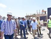 صور.. انتهاء 70% من أعمال محطة مياه الرحمانية بالبحيرة بتكلفة 400 مليون جنيه