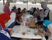 صور.. أعمال تطويرية و لقاءات لتمكين المرأة بمراكز شباب الإسكندرية