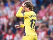 لماذا لا يستطيع جريزمان ارتداء القميص رقم 7 مع برشلونة؟
