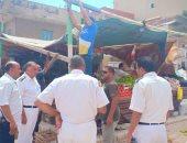 حملة لإزالة التعديات والإشغالات من شوارع مرسى مطروح