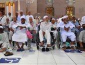 صور.. 8 آلاف كرسى متحرك لذوى الإعاقة بالمسجد النبوى