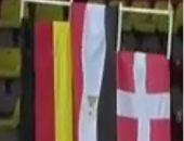 علم مصر يتفوق على الألمانى والدنماركى بعد التتويج بكأس العالم لليد للناشئين