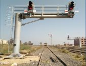 النقل تعلن التشغيل التجريبى لبرج إشارات الروضة بخط قطارات الصعيد بعد تطويره