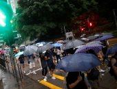 الآلاف يشاركون فى احتجاج مناهض للحكومة بهونج كونج