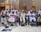 """""""شؤون المسجد النبوى"""" خصصت ثمانية آلاف كرسى لخدمة كبار السن وذوى الإعاقة"""