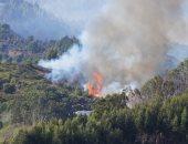 اندلاع حرائق بمناطق المزروعات فى أماكن القصف الإسرائيلى لجنوب لبنان