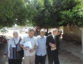 صور.. مدير أمن الغربية يستجيب لمواطن وزوجته باستخراج جوازات سفر لهما