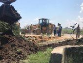 صور ..إزالة 182 حالة تعدى على الأراضى الزراعية وأملاك الدولة بالبحيرة