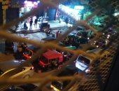 """قارئ يشكو من موقف """"توك توك"""" بالمرج يغلق الشارع أمام محطة المترو"""