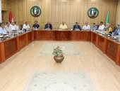 محافظ المنوفية يعقد إجتماعاً موسعاً برؤساء الوحدات لمتابعة منظومة الخدمات