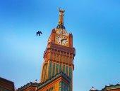 فى اليوم العالمى للتصوير.. عمر يشارك بصورة لبرج الساعة بمكة المكرمة