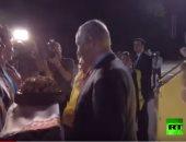 شاهد..كيف أحرجت سارة نتنياهو زوجها خلال مراسم استقبالهما بأوكرانيا
