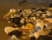 قارئ يشكو انتشار القمامة بشارع السودان بالمهندسين