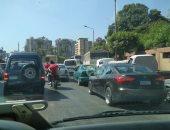 النشرة المرورية ...كثافات مرتفعة بمحاور القاهرة و الجيزة