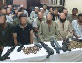 ضبط 25 متهما من أطراف مشاجرة بين عائلتين فى العياط
