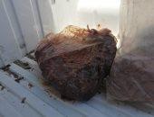 ضبط كمية من اللحوم مجهولة المصدر بالفيوم