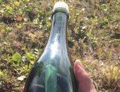 """فك لغز """"رسالة الزجاجة"""" ..بحار روسى كتبها قبل 50 عاما ..ويؤكد: هذا خط يدى"""