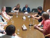 جامعة أسيوط تعقد لقاءا تشاوريا مع وفد جامعة موسكو للاستكشافات الجيولوجية