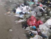 تراكم القمامة تحت نفق عزبة النصر.. شكوى أهالى البساتين