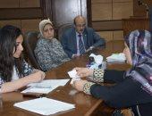 نائب محافظ البحيرة تعقد لقاء خدمة المواطنين لحل المشاكل العاجلة