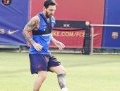 ميسي خارج قائمة برشلونة أمام ريال بيتيس فى الليجا