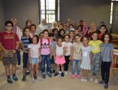 شاهد الأطفال المشاركون فى ورش الرسم بمتحف الفن الإسلامى