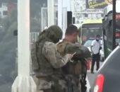 شاهد.. لحظة مقتل محتجز الرهائن فى البرازيل على يد قناص