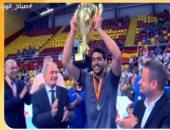 """""""بنشكر جماهير مصر"""".. أول تعليق من أفضل لاعب فى كأس العالم لكرة اليد"""
