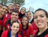 صور.. منتخب الطاولة يلتقط الصور التذكارية فى دورة الألعاب الأفريقية بالمغرب