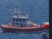 شاهد.. محاولات لإنقاذ المهاجرين العالقين قبالة جزيرة لامبيدوسا الإيطالية
