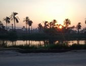 صورة حلوة.. قارئ يشارك بصورة شروق الشمس بطريق أسيوط الزراعى