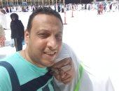 صورة و ذكرى.. وائل يشارك بصور مع والدته فى الحرم المكى