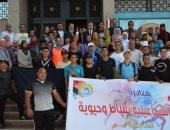 محافظ الإسماعيلية يشهد انطلاق المبادرة الشبابية للياقة البدنية
