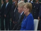 ميركل تستقبل رئيس وزراء بريطانيا فى برلين