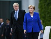 المستشارة الألمانية تستقبل رئيس وزراء بريطانيا فى برلين
