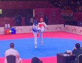 عبد الرحمن درويش يحصد فضية وزن فوق ٨٧ للتايكوندو بالألعاب الإفريقية
