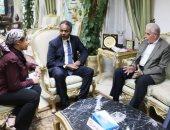 محافظ جنوب سيناء يستقبل المدير الأقليمى لبرنامج الأغذية العالمى للأمم المتحدة