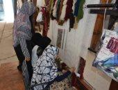 """صور.. """"الكليم والسجاد البدوى"""" أشهر الصناعات اليدوية بمطروح تواجه الاندثار"""